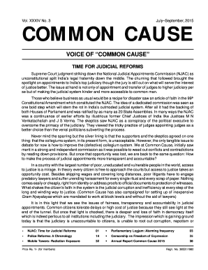 jounral pdf - Common Cause India - commoncause