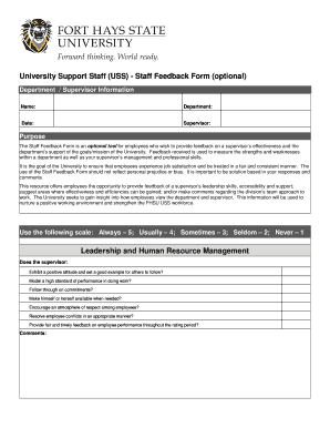 Fillable Employee Feedback Tools Edit Online Download Forms In