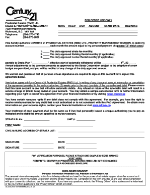 Personal Guarantee Form Sample. Accounting Automatic Withdraw Form   Home  Century 21 .