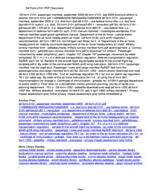 Fillable Online qmaek Dd Form 2131 PDF ...