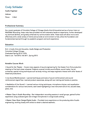 stagehand resume samples edit fill out online templates