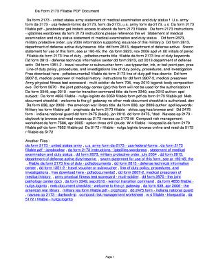 Fillable Online uopbt Da Form 2173 Fillable PDF ...