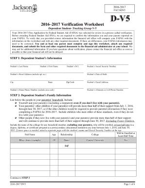 fillable online jccmi 2016 2017 verification worksheet jackson college jccmi fax email print. Black Bedroom Furniture Sets. Home Design Ideas