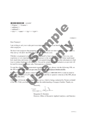 Printable sample letter to irs - Fill Out & Download Online Blanks