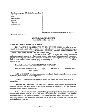 bargain and sale deed oregon bargain and sale deed Forms and Templates - Fillable