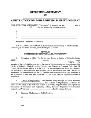 Ira llc operating agreement template 28 images 28 for Ira llc operating agreement template