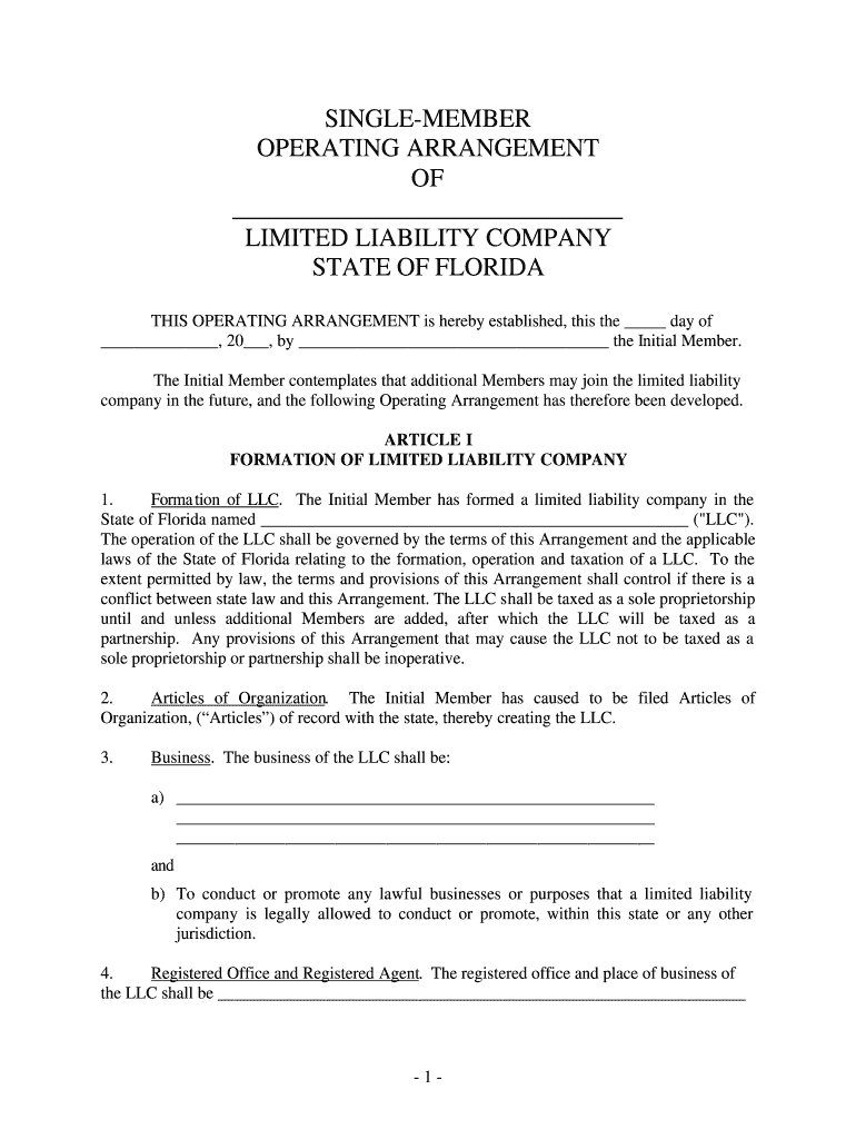 Florida Partnership Agreement Fill Online Printable Fillable Blank Pdffiller