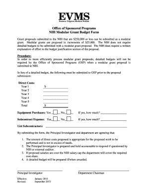 Printable sample nih grant proposal - Fill Out & Download Top Rental ...