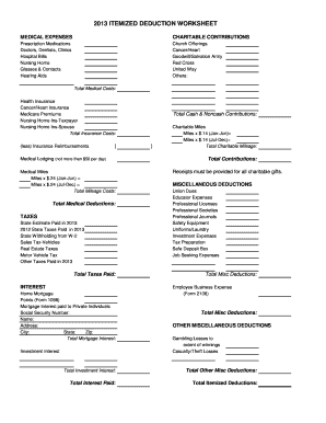 Printables Schedule A Itemized Deductions Worksheet schedule a itemized deductions worksheet intrepidpath fillable fax
