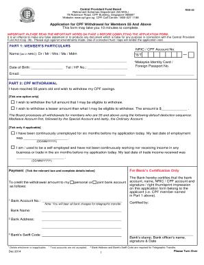Fillable Online Mycpf Cpf Gov Form Rsd 55 Cpf Board Mycpf Cpf Gov Fax Email Print Pdffiller