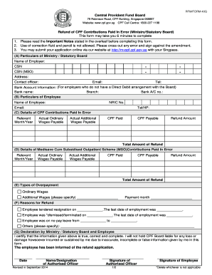 Cpf Full Form 40a Fill Online Printable Fillable Blank Pdffiller