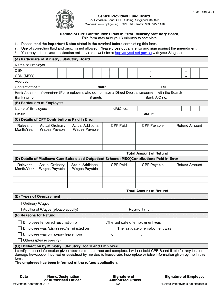 Cpf Form 90 - Fill Online, Printable, Fillable, Blank