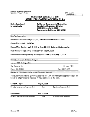 monrovia usd cde form