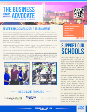 Advocate - Tempe Chamber of Commerce - tempechamber