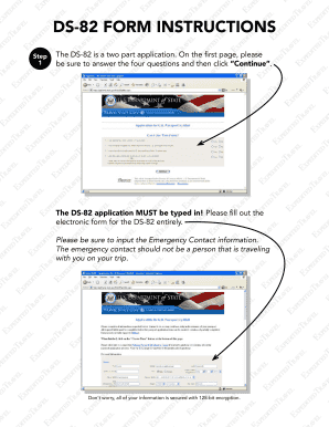 Fillable Online DS-82 Form InStructIonS - US Passport 123 Fax ...