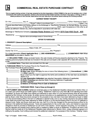 Commercial Lease Purchase Agreement Forms And Templates