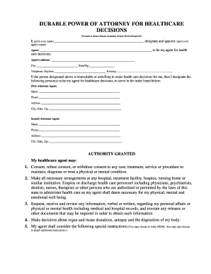 bill of sale form kansas general durable power of attorney form