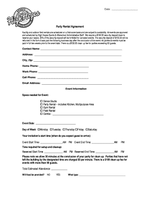 18 Printable Rental Agreement Doc Forms And Templates