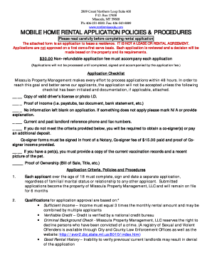 10 Printable Mobile Home Rental Agreement Forms And
