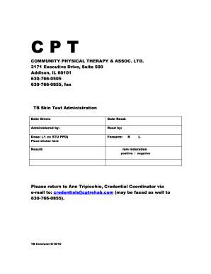 Mantoux Test Report Format - Fill Online, Printable, Fillable ...