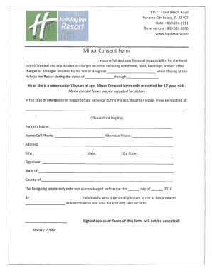 Indemnity Form Hotel - Fill Online, Printable, Fillable, Blank ...