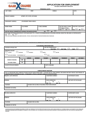 gamexchange form