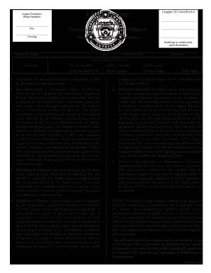 League Affidavit - Fill Online, Printable, Fillable, Blank | PDFfiller