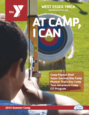 2014 Camp Brochure - Metropolitan YMCA of the Oranges