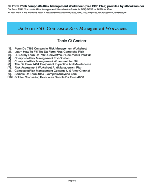 Printables Composite Risk Management Worksheet Fillable composite risk management worksheet form fill online printable related content sibooksan mn arng worksheet