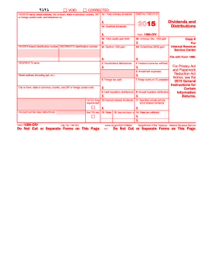 1099 Form 2015 Pdf - Fill Online, Printable, Fillable, Blank ...