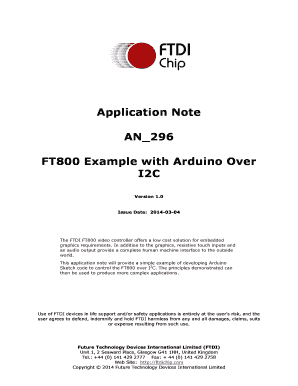 Ftdi I2c Cmd - Fill Online, Printable, Fillable, Blank