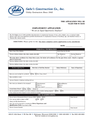 gabes application pdf form