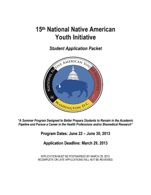 15th National Native American Youth Initiative