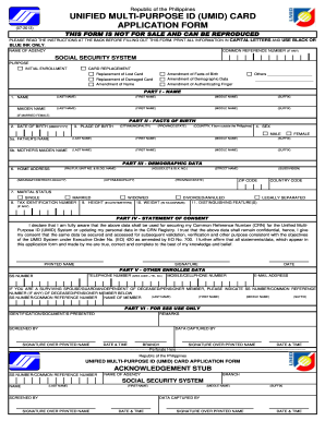 Postal Id Application Form - Fill Online, Printable