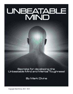 navy seal mental toughness a guide to developing an unbeatable mind english edition