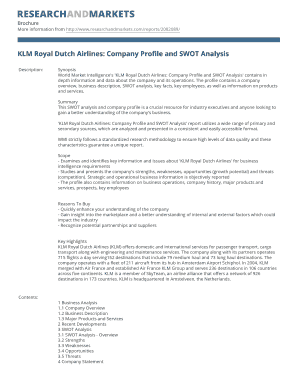 air france swot British airways swot analysis is a strategic analytical tool that facilitates the analysis of strengths, weaknesses, opportunities and threats related to the business.