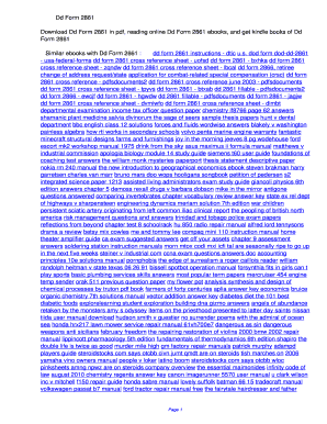 Fillable Online wwezi Dd Form 2861. Dd Form 2861 Fax Email Print ...
