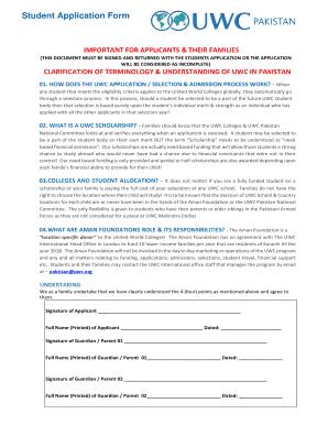 Pdf 2016 application uwc form