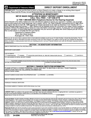 2016 Form VA 24-0296 Fill Online, Printable, Fillable, Blank ...