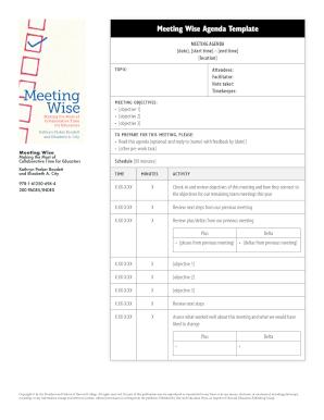 meeting wise agenda template data wise datawise gse harvard