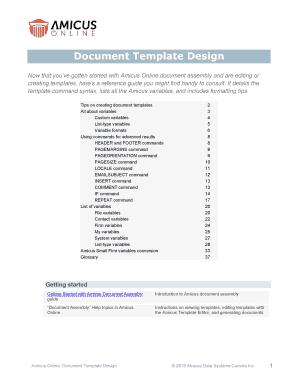 Fillable Document Template Design Edit Print Download Business