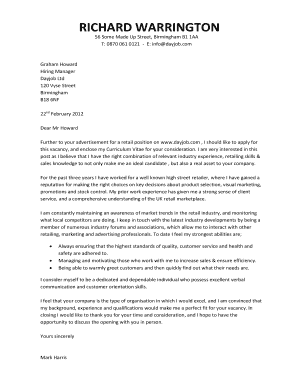 Editable retail district manager cover letter examples ...