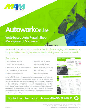 fillable auto repair invoice - Fillable Forms & Templates to