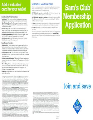 400431792 Sam S Club Application Form on