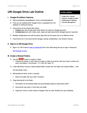 Speech Outline Template Google Docs