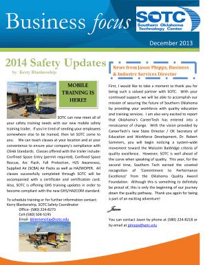 newsletter templates pdf