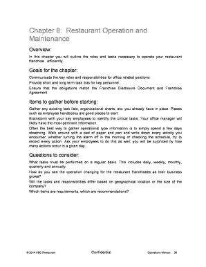 restaurant closing notice sample - Edit, Fill, Print & Download Best