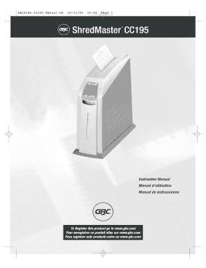 Gbc5107 sc170-sc180 manual us.