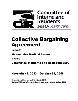 Collective Bargaining Agreement - maimonidesmed.org
