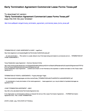 9 Printable Commercial Lease Agreement Texas Forms And